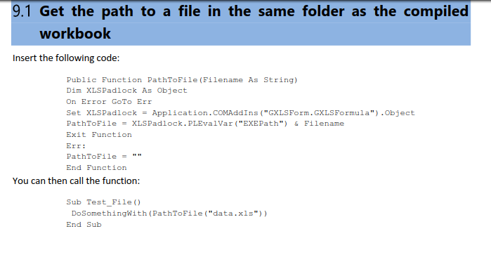 Read/Import a txt file (MUST WORK FUNCTION SUB) - XLS