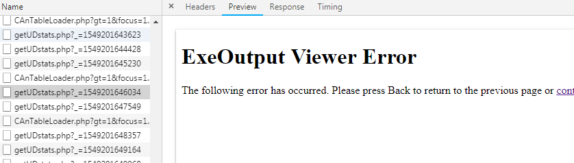 ExeOutputViewerError
