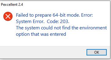 XLSPadlock-error1