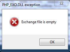 Exchange_on_first_run